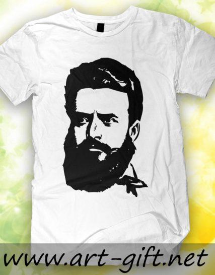 Тениска с щампа - Христо Ботев