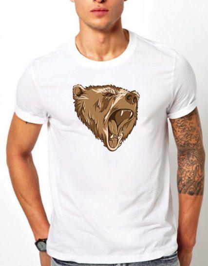 Тениска с щампа - Мечка