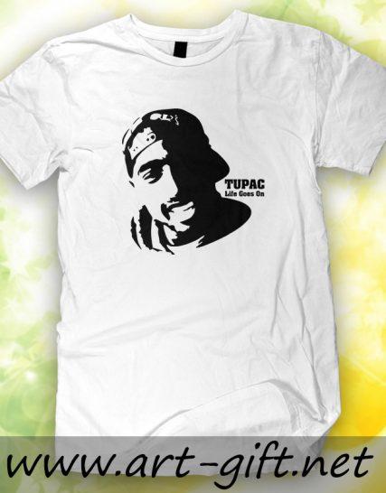 Тениска с щампа - Tupac
