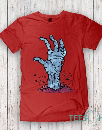 Тениска с щампа - Hand