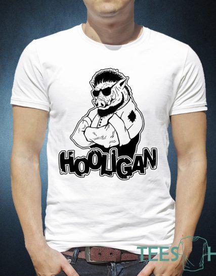 Тениска с щампа - Hooligan