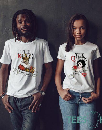 Комплект тениски - King and Queen 2