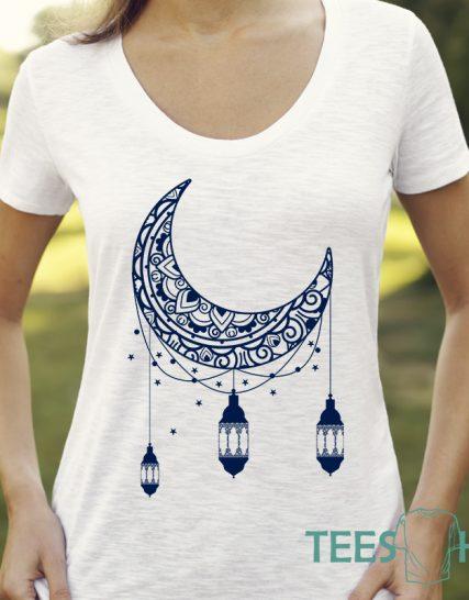 Тениска с щампа - Moon
