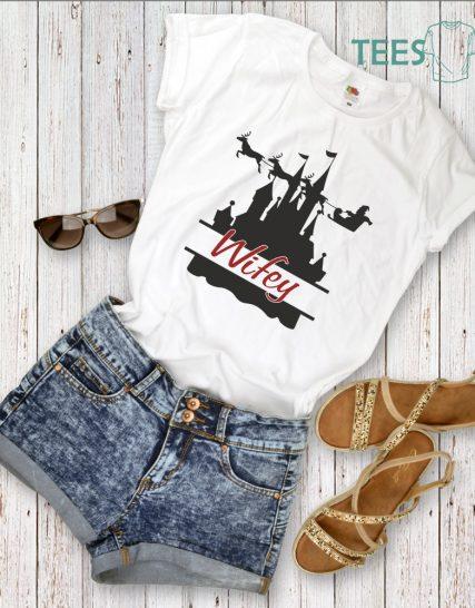 Тениска с щампа - Wifey