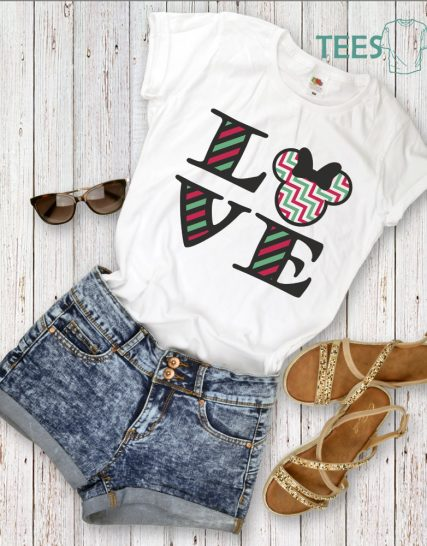 Тениска с щампа - Love
