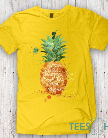 Тениска с щампа - Pineapple