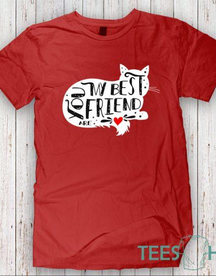 Тениска с щампа - My best friend