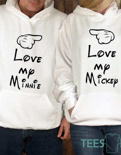 Комплект суитчери - Love between Mickey and Minnie