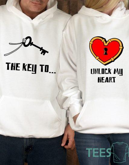 Комплект суитчери - Key to my heart