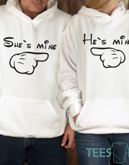 Комплект суитчери - He's mine, She's mine