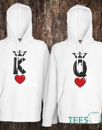 Комплект суитчери - King and Queen 1
