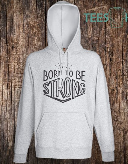 Суитчер с щампа - Born to be Strong