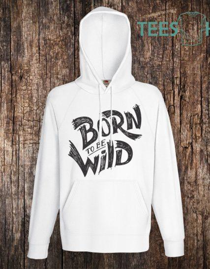 Суитчер с щампа - Born to be wild