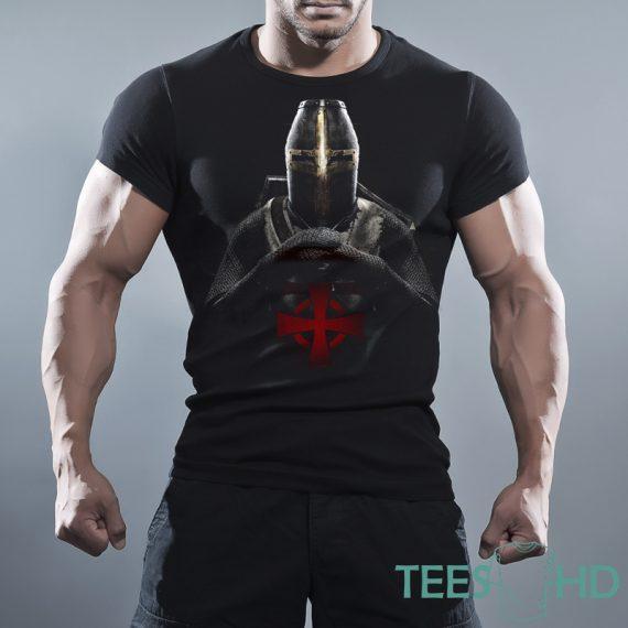 Тениска с щампа - Тамплиер 1