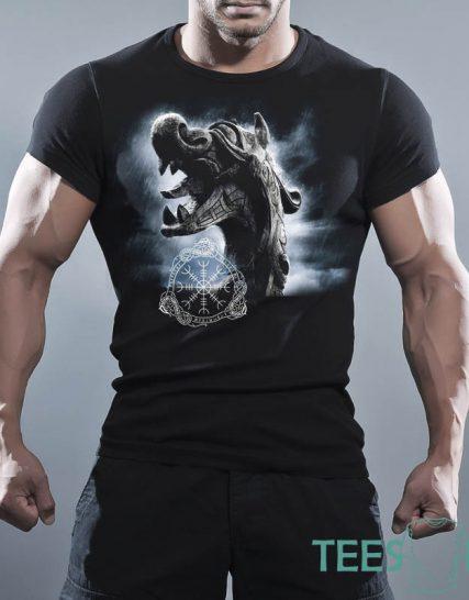 Тениска с щампа - Рицари на Кръглата маса