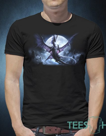 Тениска с щампа - Дракон
