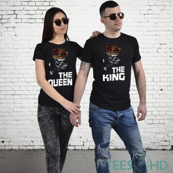 Комплект тениски - King and Queen 4