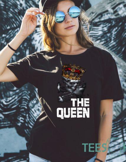 Тениска с щампа - The Queen