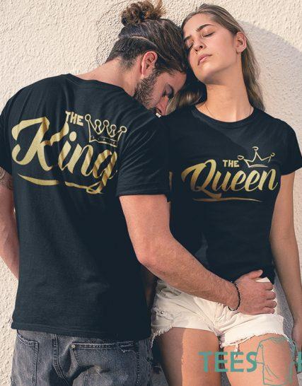 Комплект тениски - Крал и Кралица