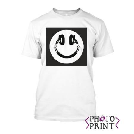 Тениска с щампа - Music