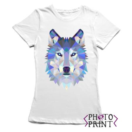 Тениска с печат - Вълк