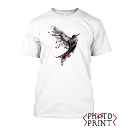 Тениска с печат – Bird Art