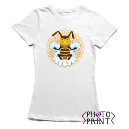 Тениска с печат – Пчеличка арт