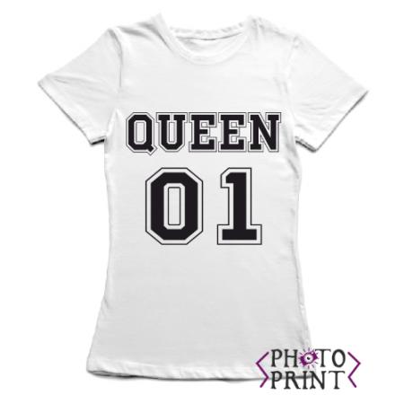 Тениска с щампа - Queen 01